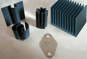 Power Transistors and Heat sinks