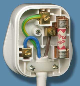 conductors insulators rh learnabout electronics org 13a plug top wiring Plug 13A Plan